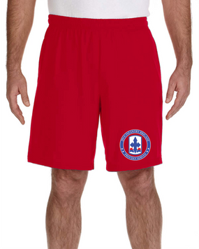 29th Infantry Brigade Embroidered Gym Shorts  -Proud