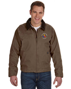 30th Armored Division Embroidered DRI-DUCK Outlaw Jacket (C)