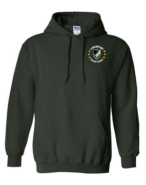 US Army Security Agency Embroidered Hooded Sweatshirt -(C)