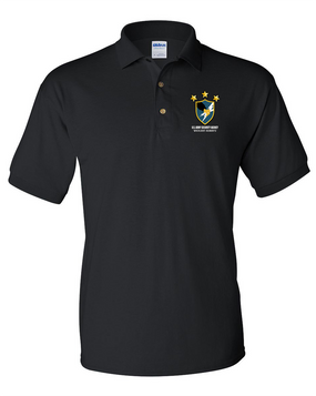 US Army Security Agency Embroidered Cotton Polo Shirt