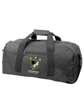 US Army Security Agency Embroidered Duffel Bag