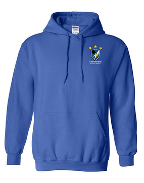 US Army Security Agency Embroidered Hooded Sweatshirt