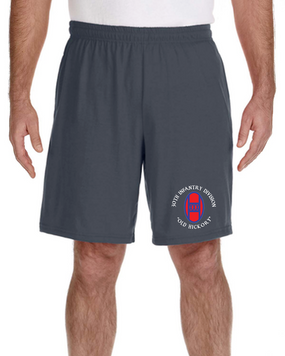 30th Infantry Division Embroidered Gym Shorts (C)