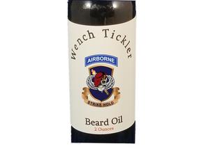 """504th PIR """"Skull""""   Wench Tickler Beard Oil"""