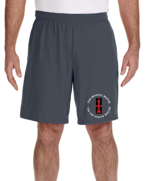 32nd Infantry Brigade Embroidered Gym Shorts (C)