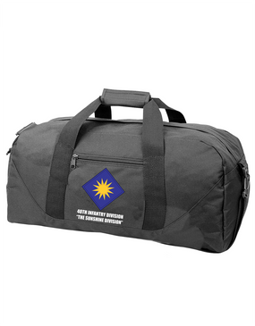40th Infantry Division Embroidered Duffel Bag