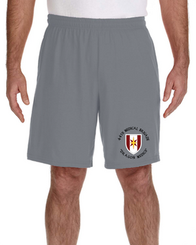 44th Medical Brigade Embroidered Gym Shorts (C)