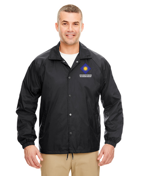 40th Infantry Division Embroidered Windbreaker