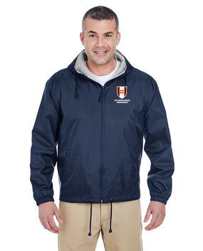 44th Medical Brigade Embroidered Fleece-Lined Hooded Jacket
