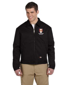 44th Medical Brigade Dickies 8 oz. Lined Eisenhower Jacket