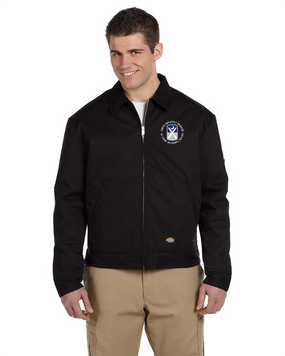 218th Infantry Brigade Dickies 8 oz. Lined Eisenhower Jacket (C)