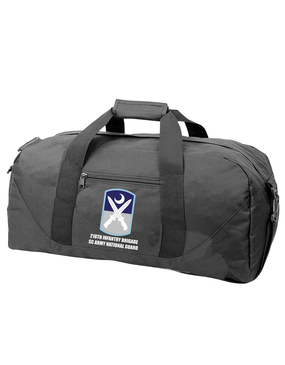 218th Infantry Brigade Embroidered Duffel Bag