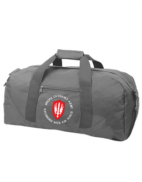 SCARWAF Embroidered Duffel Bag