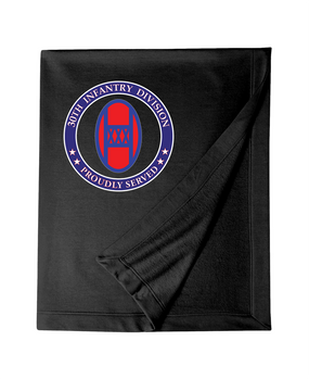 30th Infantry Division Embroidered Dryblend Stadium Blanket -Proud