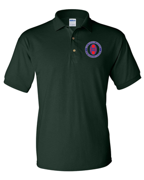 30th Infantry Division Embroidered Cotton Polo Shirt -Proud