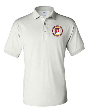 62nd Medical Brigade Embroidered Cotton Polo-Proud