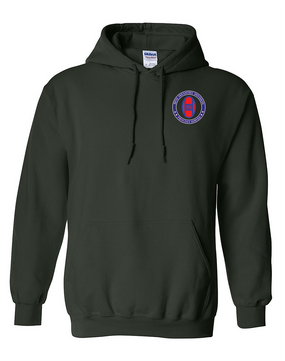 30th Infantry Division Embroidered Hooded Sweatshirt -Proud