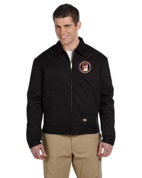 62nd Medical Brigade  Dickies 8 oz. Lined Eisenhower Jacket -Proud