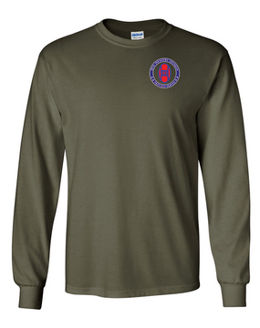 30th Infantry Division Long-Sleeve Cotton T-Shirt -Proud