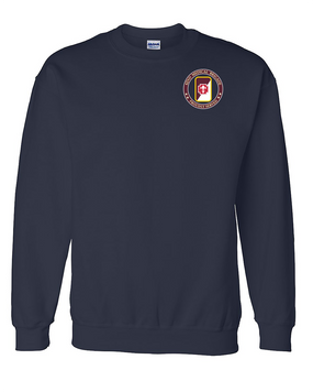 62nd Medical Brigade Embroidered Sweatshirt -Proud