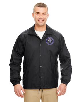 "173rd Airborne Brigade ""Crest""  Embroidered Windbreaker -Proud"