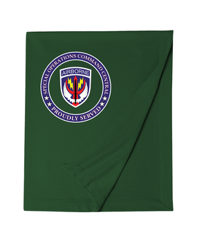 SOCCENT Embroidered Dryblend Stadium Blanket-Proud