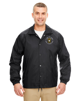 JFK Special Warfare Center Embroidered Windbreaker-(C)