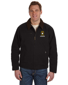 JFK Special Warfare Center  Embroidered DRI-DUCK Outlaw Jacket