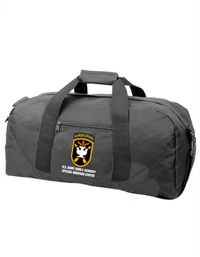 JFK Special Warfare Center Embroidered Duffel Bag