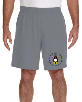 JFK Special Warfare Center Embroidered Gym Shorts (C)