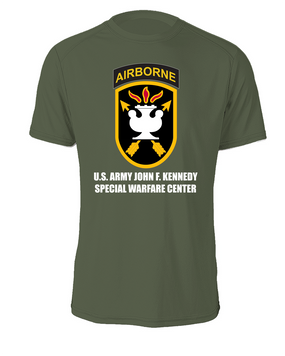 JFK Special Warfare Center Cotton Shirt -FF