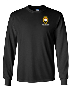 JFK Special Warfare Center Long-Sleeve Cotton T-Shirt
