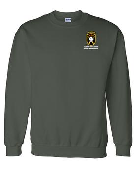 JFK Special Warfare Center Embroidered Sweatshirt