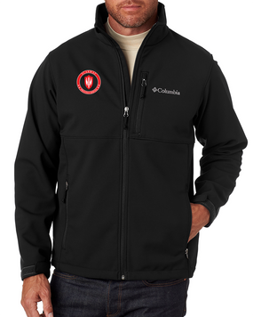 SCARWAF Embroidered Columbia Ascender Soft Shell Jacket -Proud
