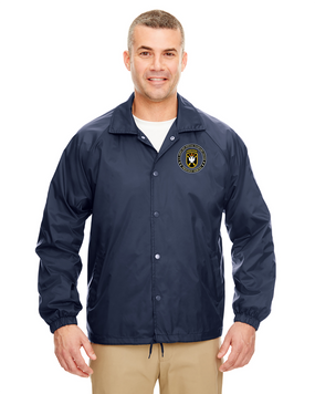 JFK Special Warfare Center Embroidered Windbreaker-Proud
