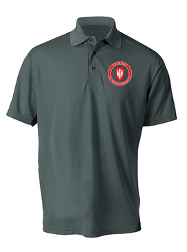 SCARWAF Embroidered Moisture Wick Polo Shirt -Proud