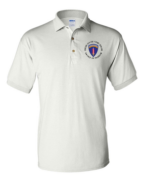 USAEUR Embroidered Cotton Polo Shirt-(C)