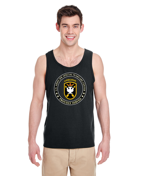 JFK Special Warfare Center Tank Top -Proud (FF)