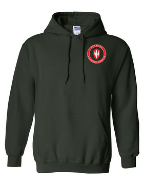 SCARWAF Embroidered Hooded Sweatshirt -Proud