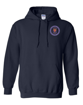 "SOCCENT ""Crest""  Embroidered Hooded Sweatshirt-Proud"