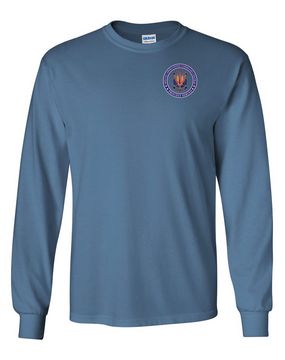 "SOCCENT ""Crest""  Long-Sleeve Cotton T-Shirt -Proud"