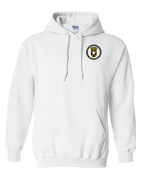 JFK Special Warfare Center  Embroidered Hooded Sweatshirt-Proud