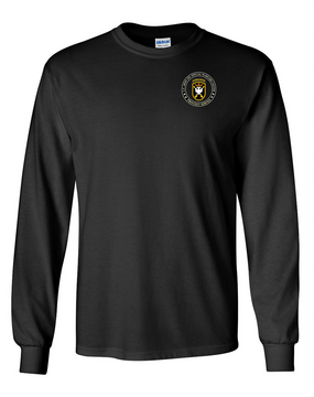 JFK Special Warfare Center Long-Sleeve Cotton T-Shirt-Proud