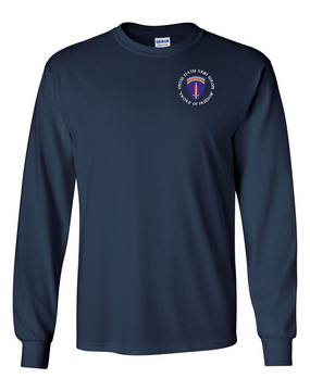 USAEUR Long-Sleeve Cotton T-Shirt (C)
