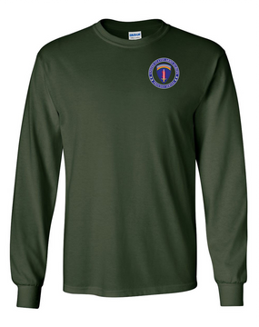 USAEUR Long-Sleeve Cotton T-Shirt -Proud