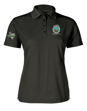 The Pipeliners's Association of Houston Ladies Embroidered Moisture Wick Polo Shirt