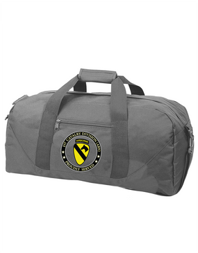 1st Cavalry Division (Airborne) Embroidered Duffel Bag-Proud