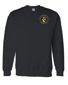 1st Cavalry Division (Airborne) Embroidered Sweatshirt  -Proud