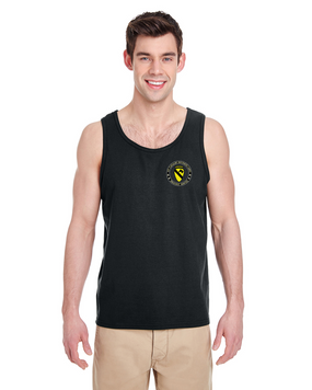 1st Cavalry Division (Airborne) Tank Top-Proud