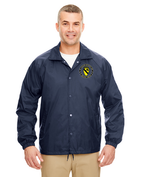 1st Cavalry Division (Airborne) Embroidered Windbreaker -Proud